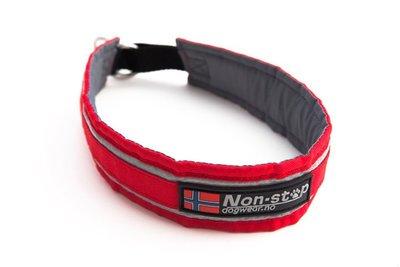 Non-Stop halve slip halsband | Rood